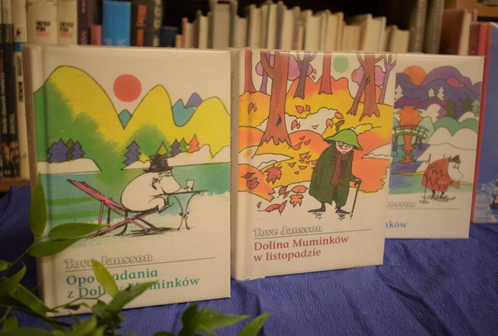 książki o Muminkach