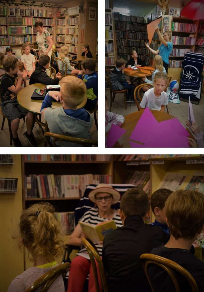 Zajęcia dla dzieci w bibliotece